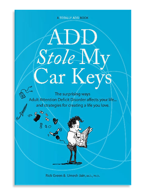 Cover of ADD Stole My Car Keys
