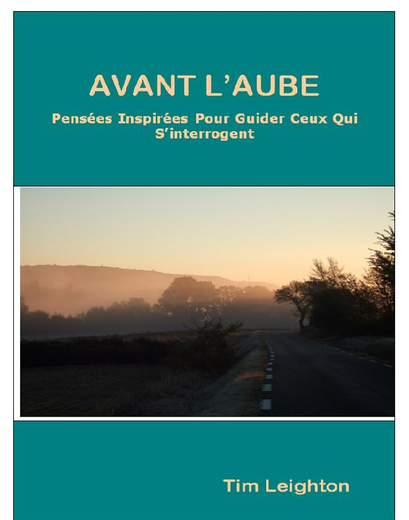Cover of AVANT L' AUBE Pens