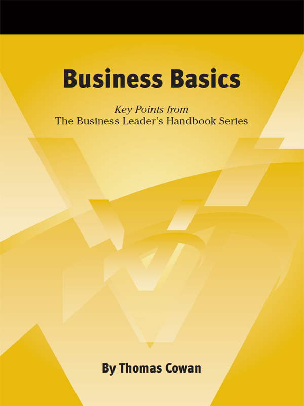 Cover of Business Basics