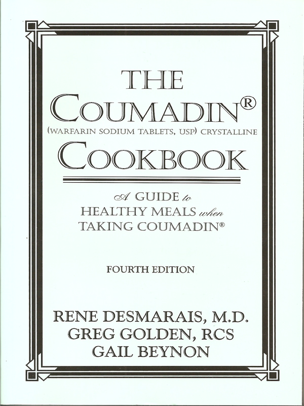 Cover of The Coumadin Cookbook