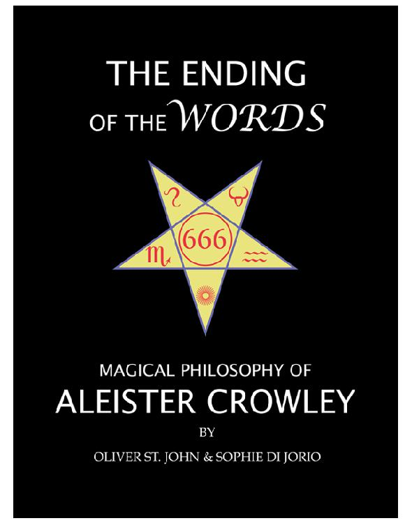 Cover of The Ending of the Words: Magical Philosophy of Aleister Crowley