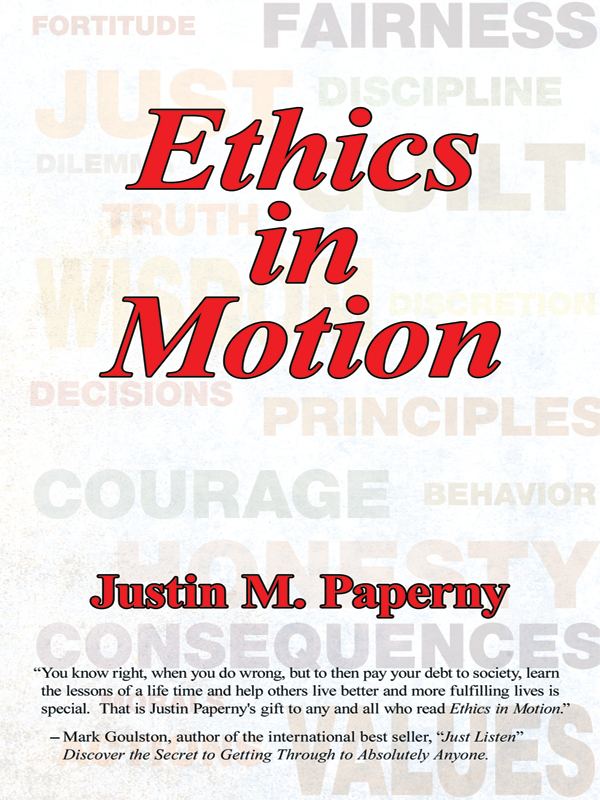 Cover of Ethics in Motion