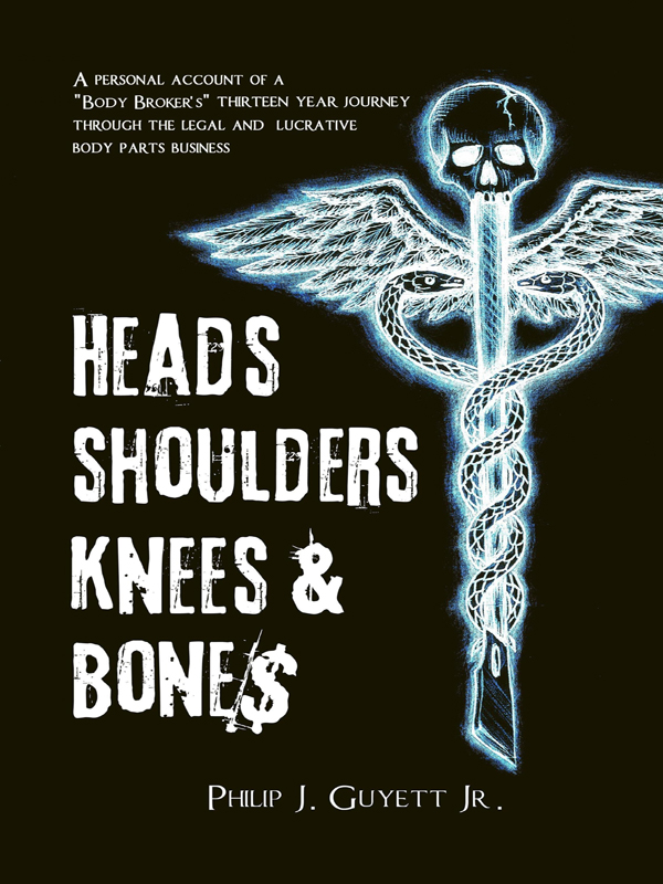 Cover of Heads, Shoulders, Knees and Bone$