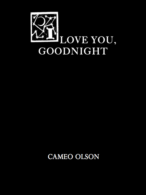 Cover of I Love You, Goodnight