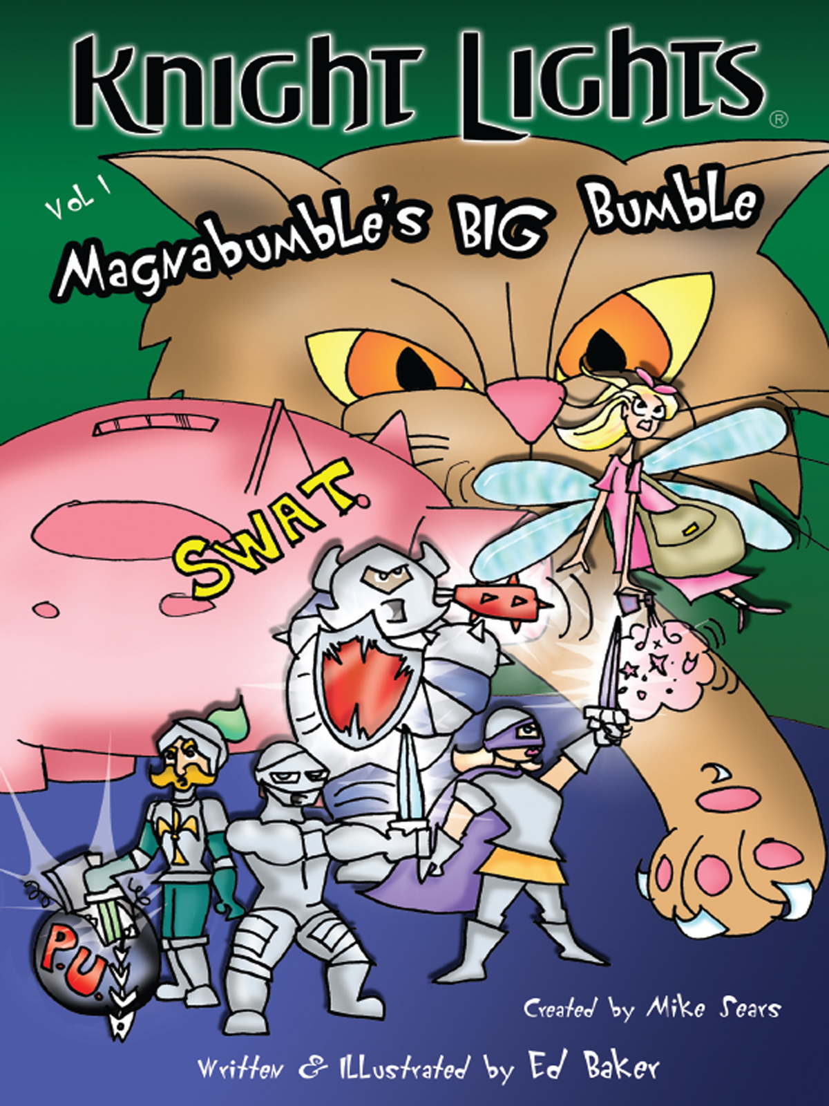 Cover of Knight Lights Vol 1: Magnabumble's Big Bumble