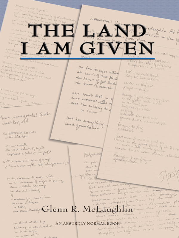 Cover of The Land I Am Given