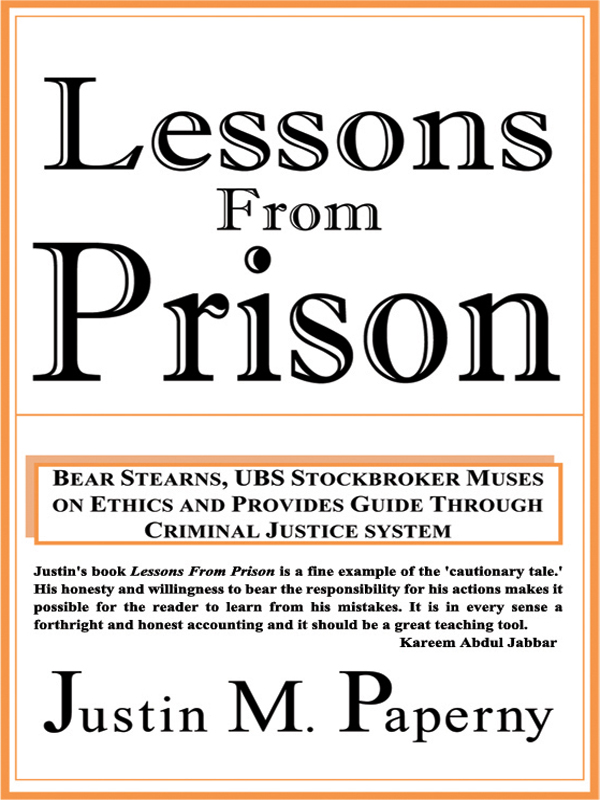 Cover of Lessons from Prison