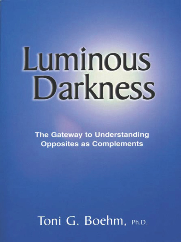 Cover of Luminous Darkness