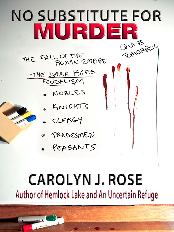 Cover of No Substitute For Murder
