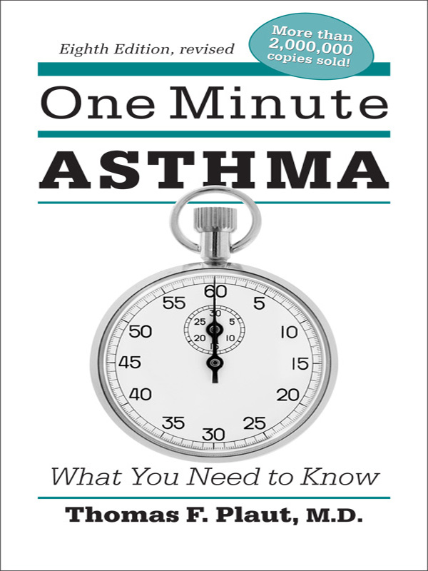 Cover of One Minute Asthma: What You Need to Know