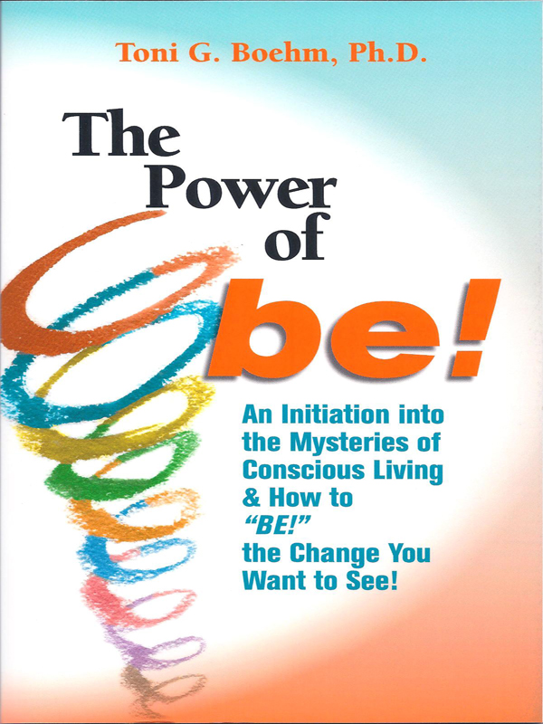 Cover of The Power of BE!