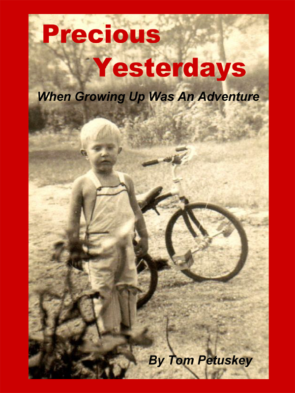 Cover of Precious Yesterdays: When Growing Up Was An Adventure