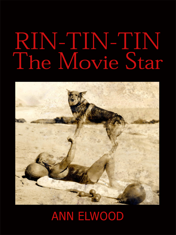 Cover of Rin-Tin-Tin: The Movie Star