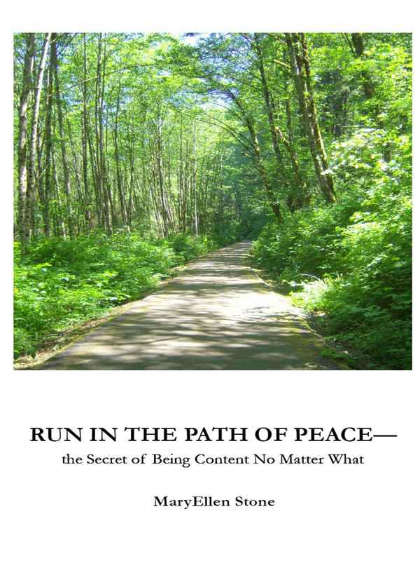 Cover of Run in the Path of Peace