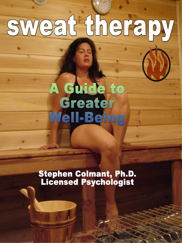 Cover of Sweat Therapy: A Guide to Greater Well-Being