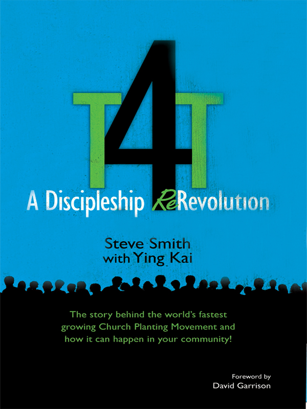 Cover of T4T: A Discipleship Revolution