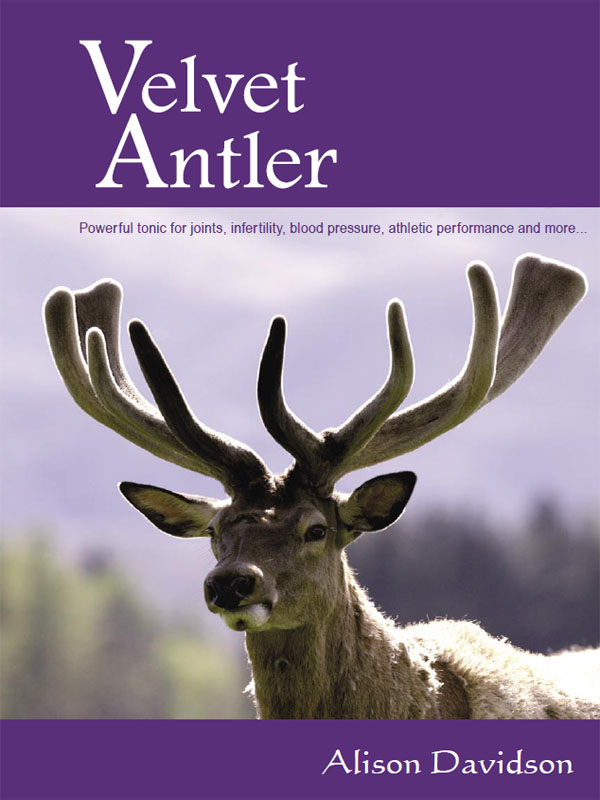 Cover of Velvet Antler