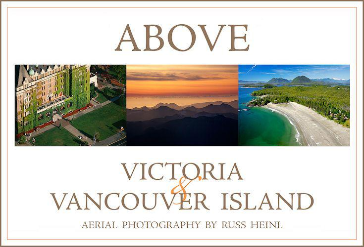Cover of Above Victoria & Vancouver Island