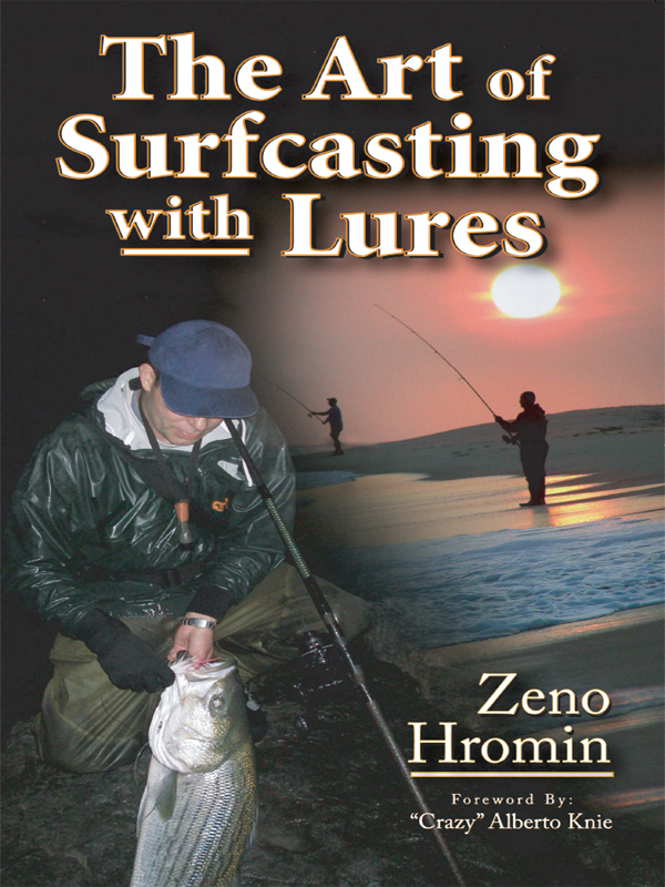 Cover of The Art of Surfcasting with Lures