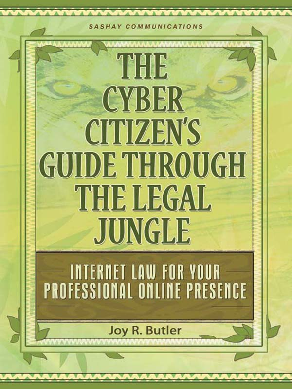 Cover of The Cyber Citizen's Guide Through the Legal Jungle