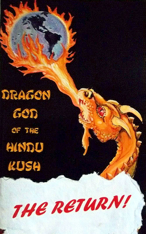 Cover of Dragon God of the Hindu Kush: The Return