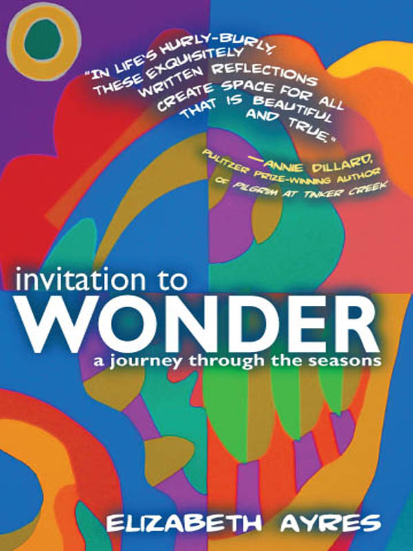 Cover of Invitation To Wonder: A Journey through the Seasons