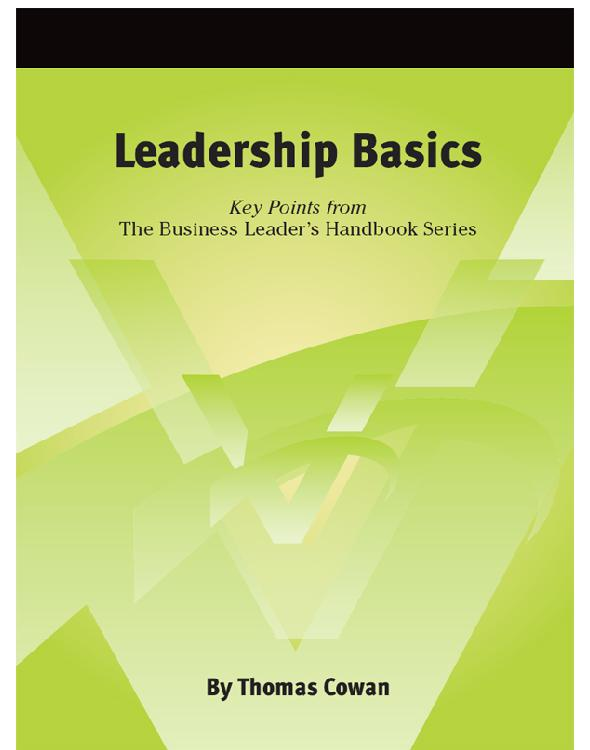 Cover of Leadership Basics
