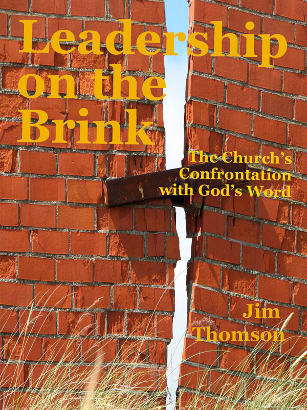Cover of Leadership on the Brink