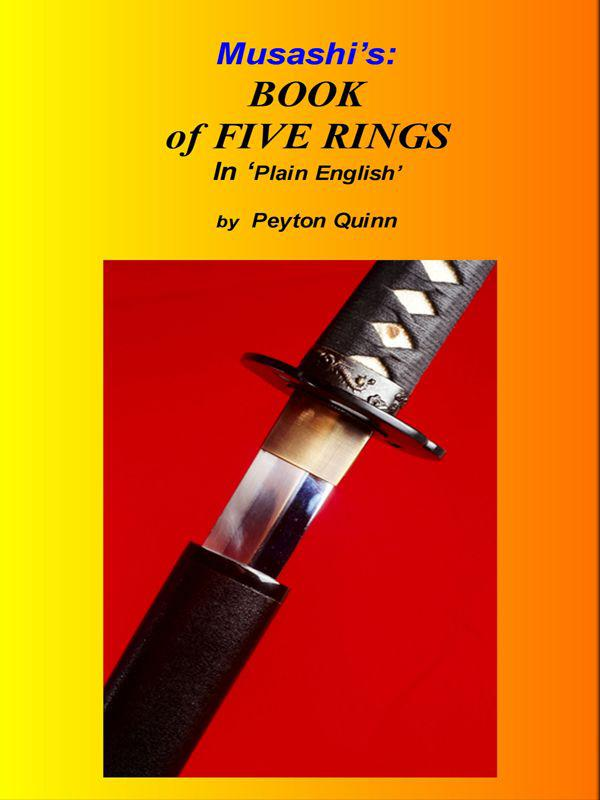 Cover of Musashi's Book of Five Rings: Explained in Plain English