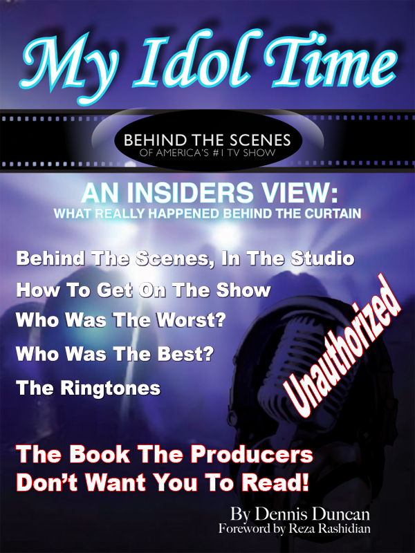 Cover of My Idol Time: Behind the Scenes of America's #1 TV Show