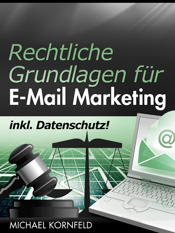 Cover of Rechtliche Grundlagen fur Email Marketing