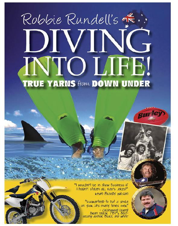 Cover of Robbie Rundell's Diving Into Life!