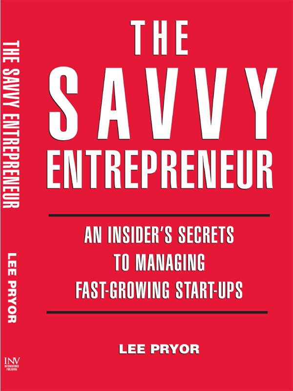 Cover of The Savvy Entrepreneur