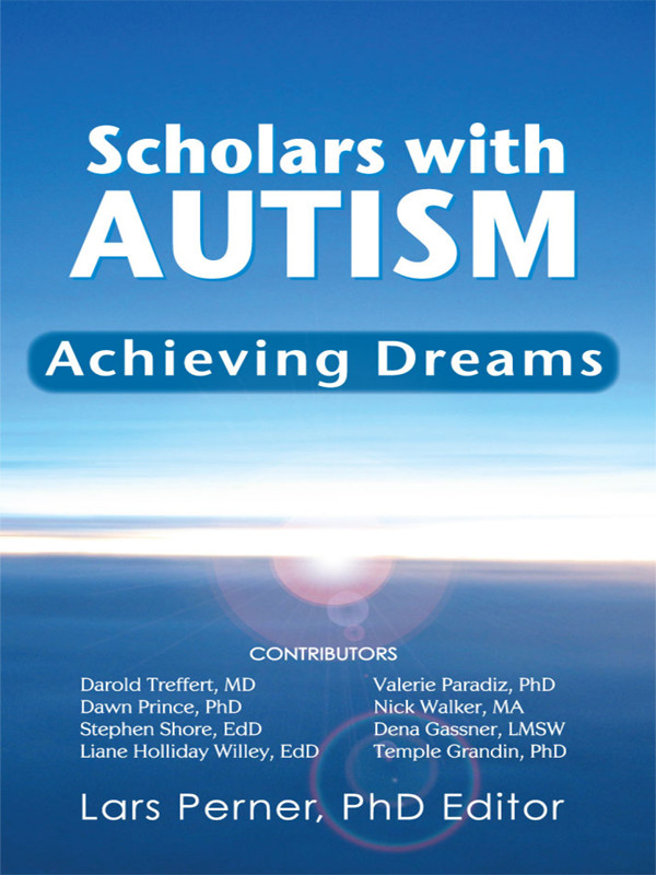 Cover of Scholars With Autism Achieving Dreams