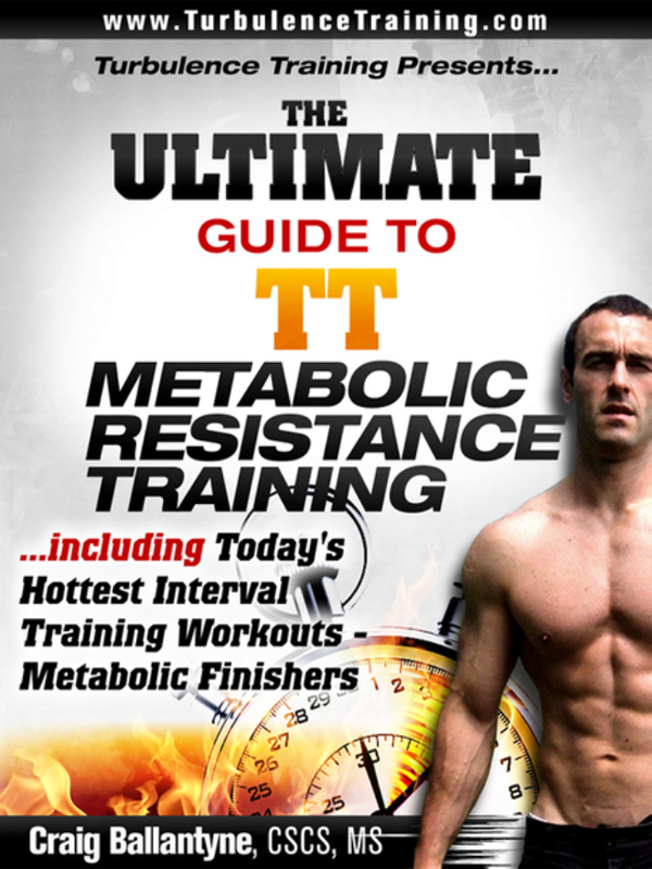 Cover of The Ultimate Guide to TT Metabolic Resistance Training