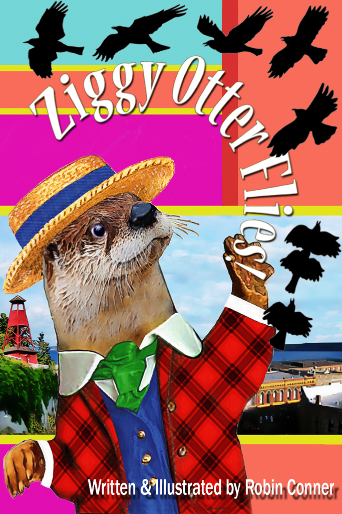 Cover of Ziggy Otter Flies!