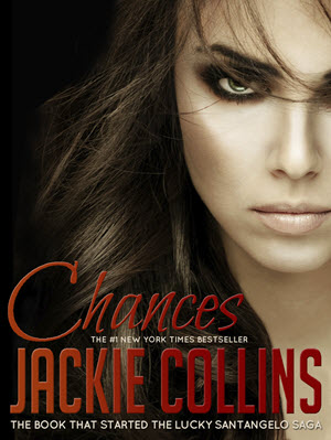 The cover of Jackie Collins' book, Chances