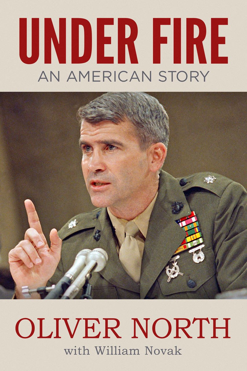 "Col. Oliver North's ""Under Fire,"" in eBook Format"