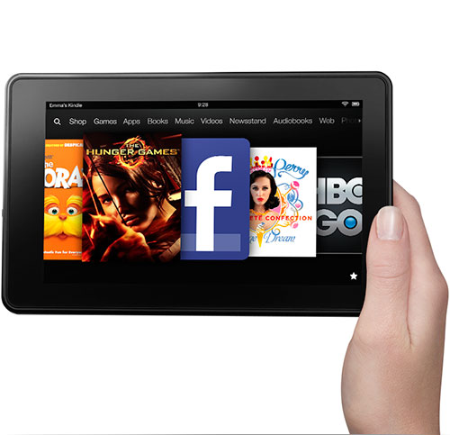 The Kindle Fire Tablet, image used by permission of Amazon.
